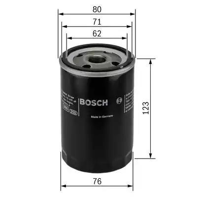 Масляный фильтр BOSCH 0 451 103 314